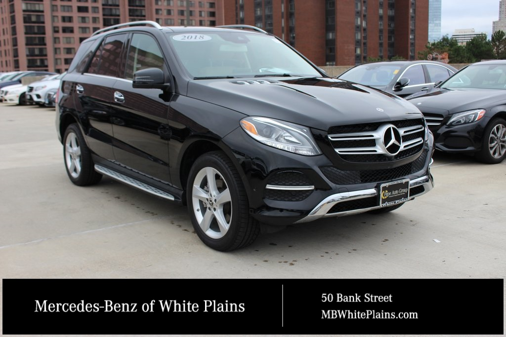 pre owned 2018 mercedes benz gle gle 350 suv in white plains 25041u