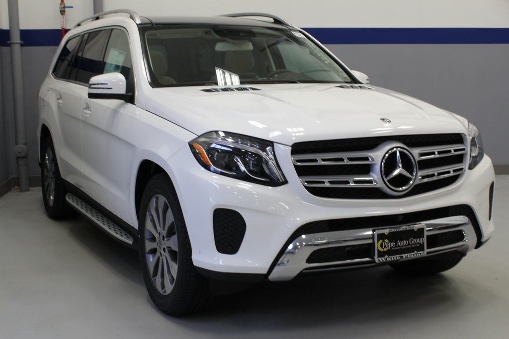 Mercedes Benz Suvs >> New 2019 Mercedes Benz Gls Gls 450 Suv In White Plains 90791w