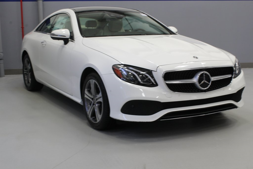 new 2019 mercedes-benz e-class e 450 2d coupe in white plains