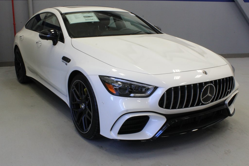 White Mercedes Benz >> New 2019 Mercedes Benz Gt Amg Gt 63 S 4matic Sedan In White Plains