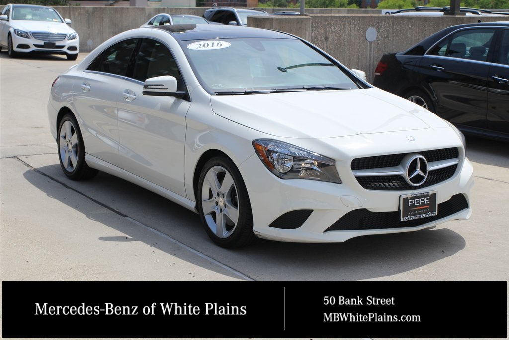 Mercedes Benz Cla >> Certified Pre Owned 2016 Mercedes Benz Cla 250 4matic Coupe