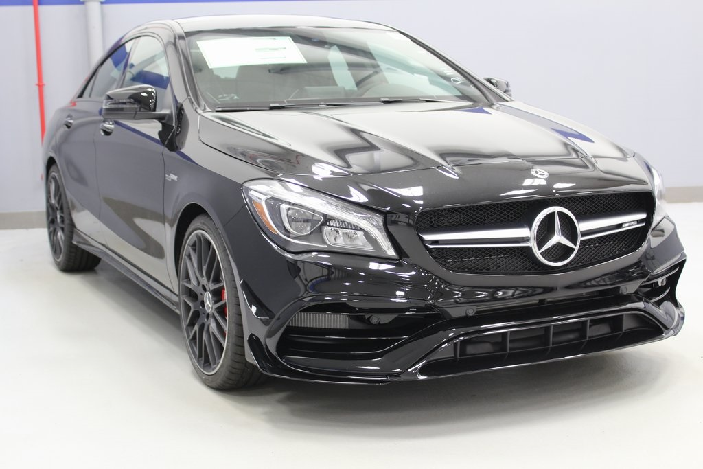 New 2019 Mercedes Benz Cla Amg Cla 45 Coupe Coupe In White Plains