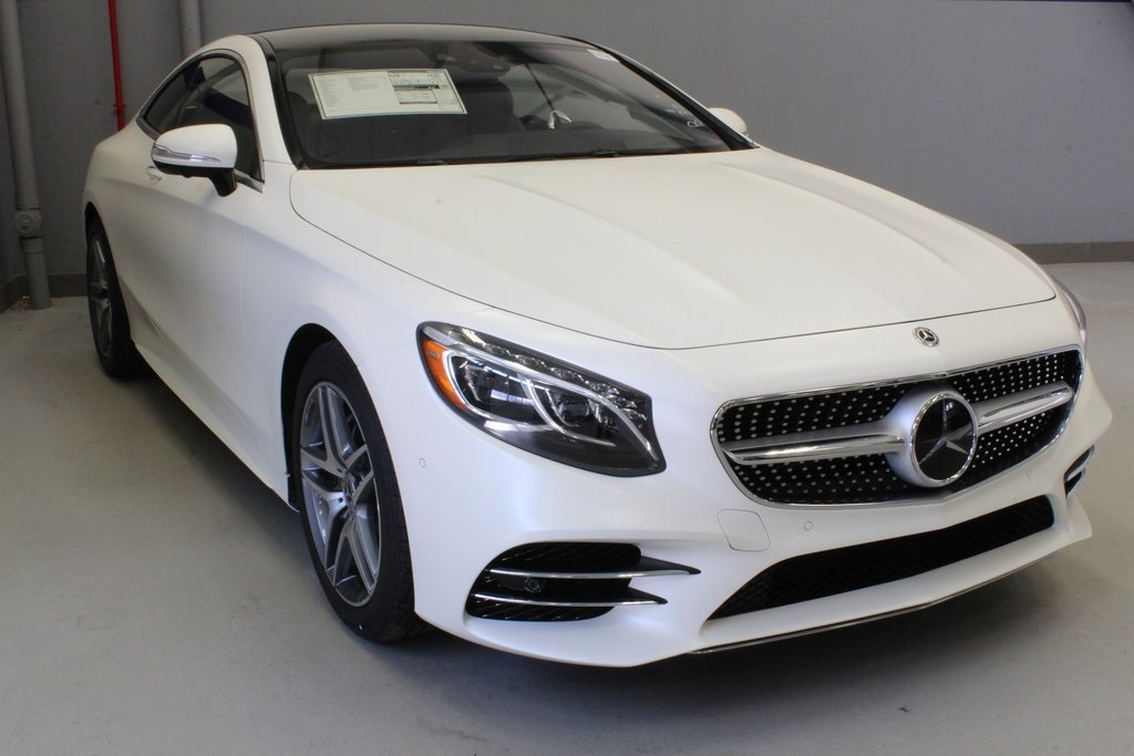 White Mercedes Benz >> New 2019 Mercedes Benz S 560 4matic Coupe
