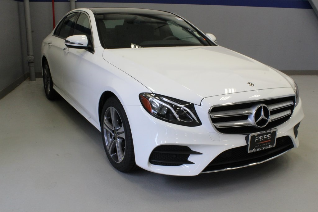 Beste New 2019 Mercedes-Benz E-Class E 300 Sport SEDAN in White Plains BZ-04